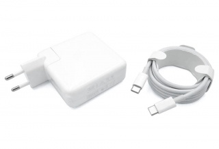 Блок питания для Apple 20.3 V, 9 V - 3A, 5.2 V - 2.4 A, 61 W, USB Type-C